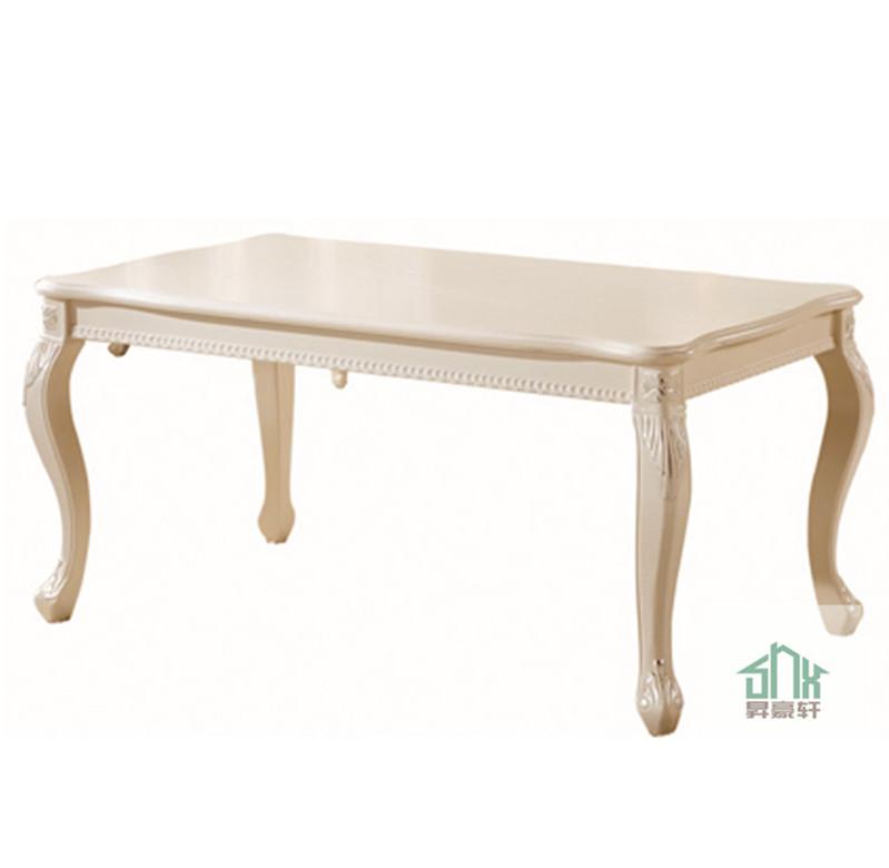 흰색 나무 판자 식사 테이블은 HC- 601# 모나코 식탁 디자인 중국어 ...