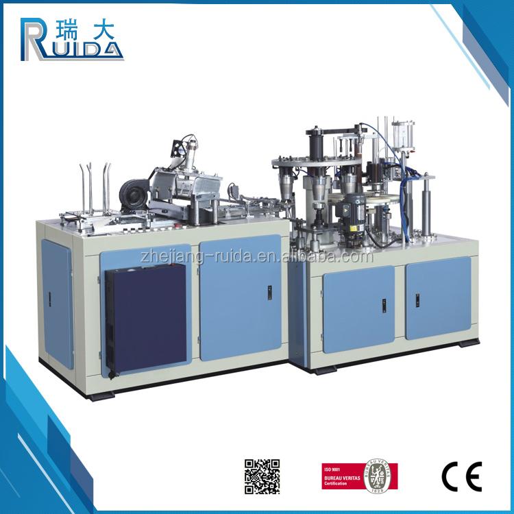 RUIDA China Lieferanten Herstellung Vollautomatische Doppelwandigen Pappbecher Formmaschine