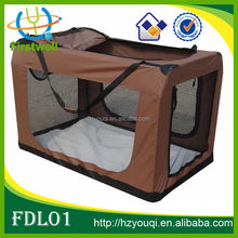 Pet Crate with mesh dog for sales