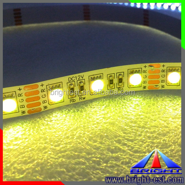 RGBW LED Flexible Strip SMD 5050 60LED/M with 40 Keys IR Remote Controller