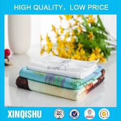 2015 Best Prices!!! Microfiber cleaning napkin printed kitchen towels