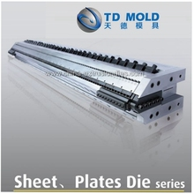 plastic extrusion sheet t dies