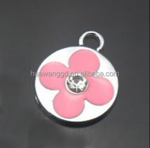 Latest popular fashion new pendant with flower for necklace
