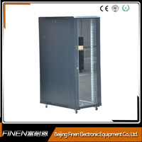 """AS 19 inch 19"""" Network server cabinet with vented glass door"""