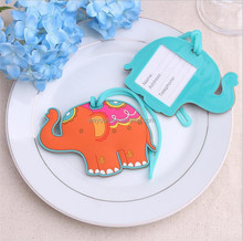 wedding favors keepsake lucky elephant Luggage Tag baby shower souvenir gifts