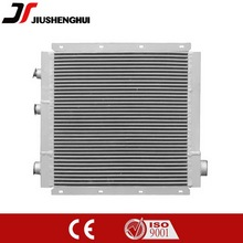 Heat exchanger for screw air compressor
