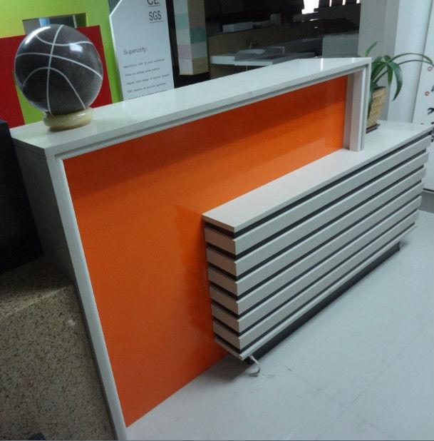 modern front desk design commercial office furniture modern office