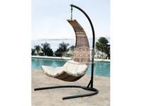 Outdoor leisure hanging basket, imitation rattan weaving furniture, garden swing hanging chair (Y9070)