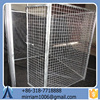 2015 Manufacturer wholesale welded wire mesh Powder Coated or Galvanized Welded Dog Cages and Chain Link Dog Cages