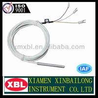 cu100 RTD with white teflon cable