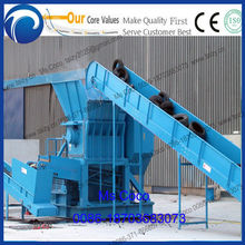 used tire crusher production line Waste tyre recycling machine rubber crusher Waste Tire Shredder Recycling Line0086-18703683073