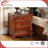 antique bed good looking brown night stand