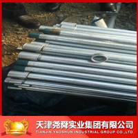 SCH40 hot dipped galvanized steel pipe used in Fence post