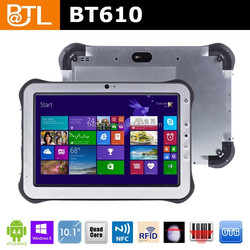 Cruiser BT610 RAM2GB+ROM32GB NFC 10.1inch industry android tablet with GPS,NFC,Barcode scanner