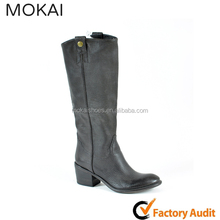 206201 DK BROWN Top Design Handmade Leather Boots for Women