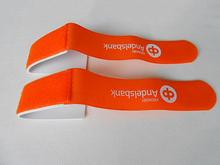 2015 Free logo sample Portacle outdoor sport soft hook and loop ski strap