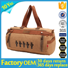 factory OEM foldable traveling duffle bag men canvas travel bag 2015 canvas duffle bag