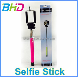 Facotry directly Z07-5S seltimer kit selfie stick for smartphone