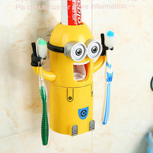 Minions automatic toothpaste dispenser gifts and premiums