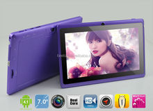 Bulk wholesale android 7 inch tablet pc wifi with dual core, free 3d games HDMIni, M716A
