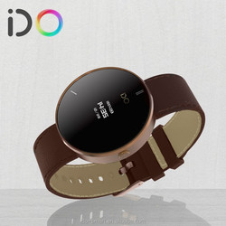 Personalized OLED Wireless Digital Step Counter Bluetooth Smart Watch with SMS