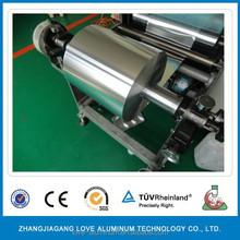 Aluminum Foil roll rewinding and cutting Machine