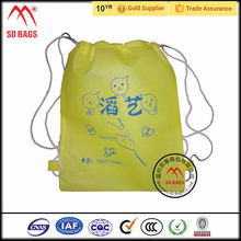 From China manufacturer cute drawstring backpack bag