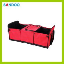 Multi plegable compartimiento de tronco de la tela canasta de almacenamiento de coches, rojo de moda car boot <span class=keywords><strong>organizador</strong></span>
