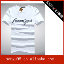 men fashion t shirts promotional t shirts with wholesale price