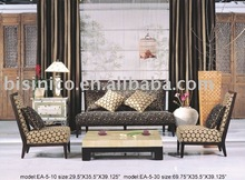Genuine leather three seat sofa. two seat sofa. small table. comfortable and high quality leather sofa set B48171