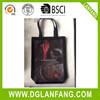 Cheap Wholesale plain black cotton canvas tote bag2015071020