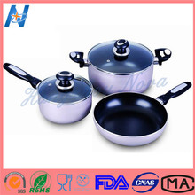 High Quality Professional Made Top Quality Fda Stainless Steel Cookware 12pcs