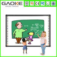 "China hangzhou Gaoke 82"" IWB mobile Infrared electronic digital Interactive Whiteboard for schools, classroom"
