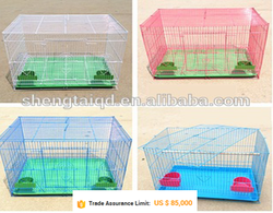 metal rabbit kennels and pet cage(factory)