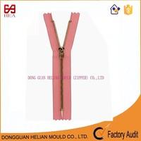 Fashionable cheap metal zipper close end zipper for sale