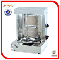 commercial 2 burners gas doner kebab grill machine GB-25A