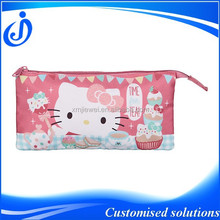 Zipper Polyester Gift Pencil Bag