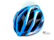 Blue helmet sports safety open face helmet riding helmet
