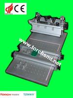 led stencil printer/semi auto screen printing machine/eletronic components