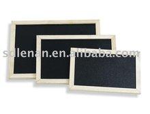De madera de pino marco de pizarra para tiza utilizados ( b7002 )