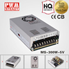 led 300W 5V 50A AC-DC mini-size series industrial power supply