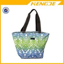 2015 water resistant and easy to clean Zip-Top Tote bag shopping bag