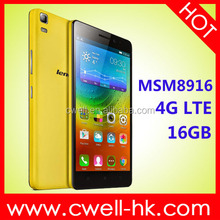 Smartphone android Lenovo K3 lenovo smartphone 4G with Qualcomm Snapdragon MSM8916 Quad Core Android 4.4, android smartphone