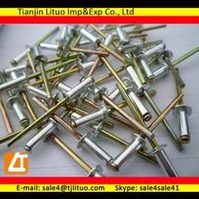 Different blind rivet size steel blind rivets close/open type blind rivets