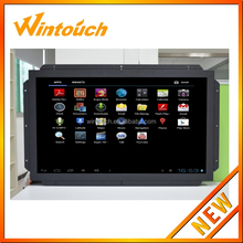 22 inch 1680*1050 Open frame LCD Monitor with IR / Capacitive / Resistive touch screen lcd display for USB RS232 VGA DVI