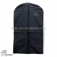 Garment bag with pvc window garment bag dry cleaning