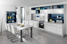 China Storage kitchen cabinet color combinations