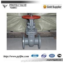 russian standard high pressure cast steel stem gate valves made in china