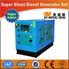Hot sale! Diesel engine silent generator set genset CE ISO approved factory direct supply 7.5 kva generator price