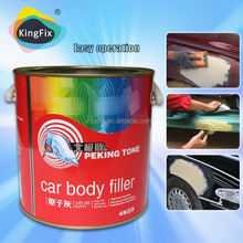 low smell BPO system hardener and putty for car repair